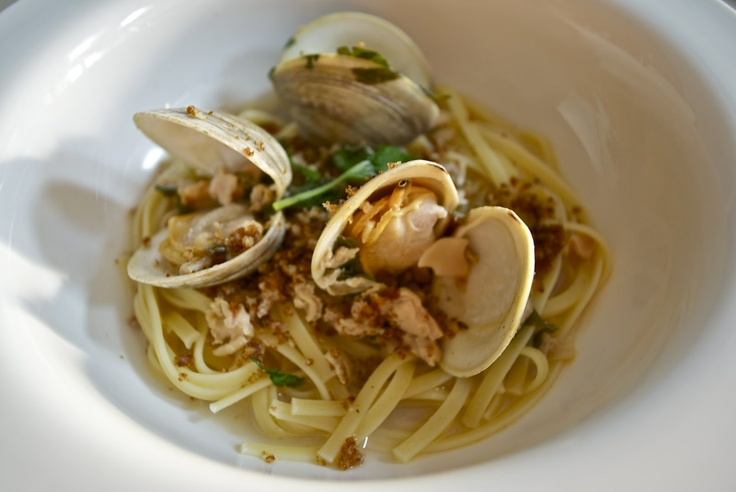 Linguine with Clams al la Dave…but of course