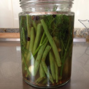 Pickled Dill Beans